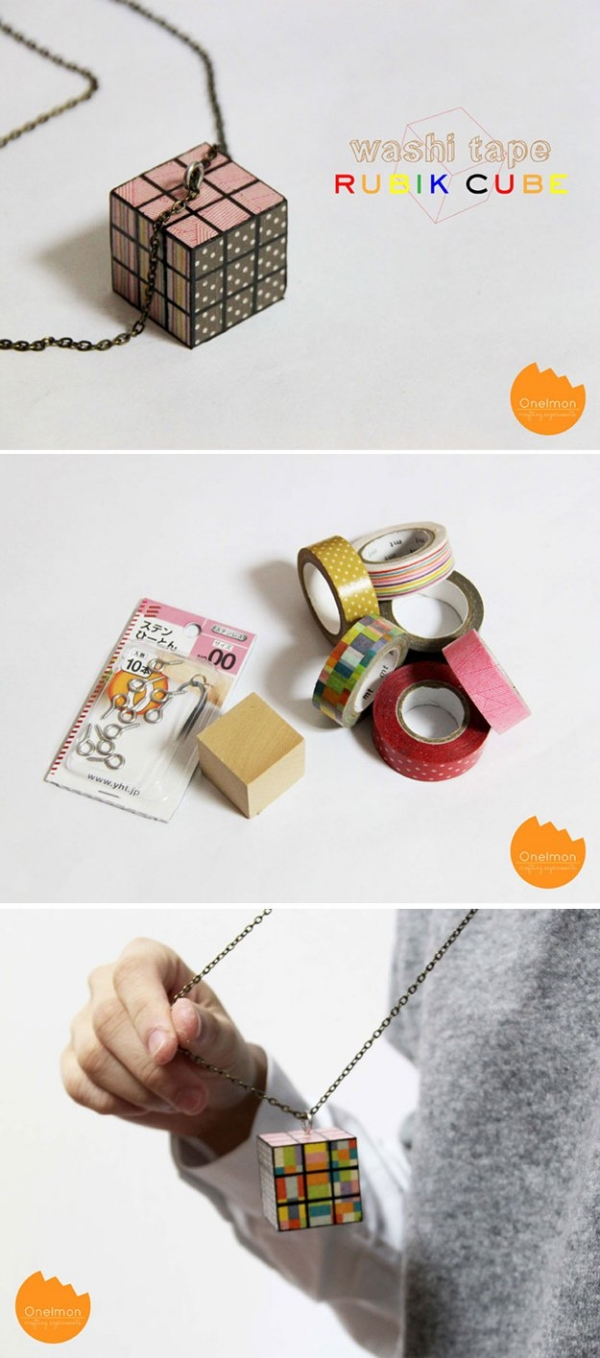 How To Upgrade Your Old Craft With Washi Tapes