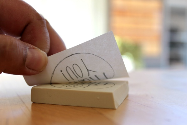 How To Make A Wooden Stamp With Your Own Art