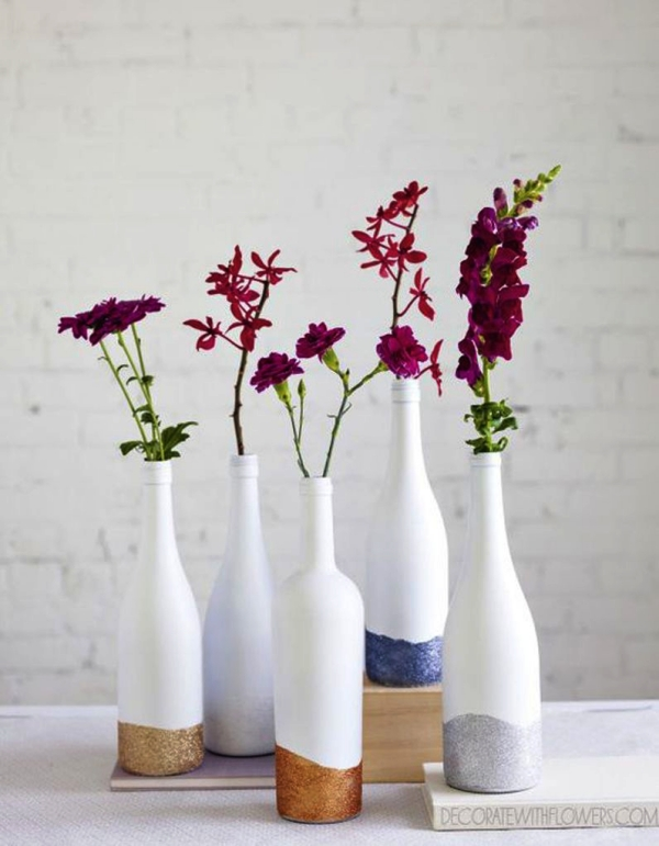 Ways to Décor Home With Wine Bottles