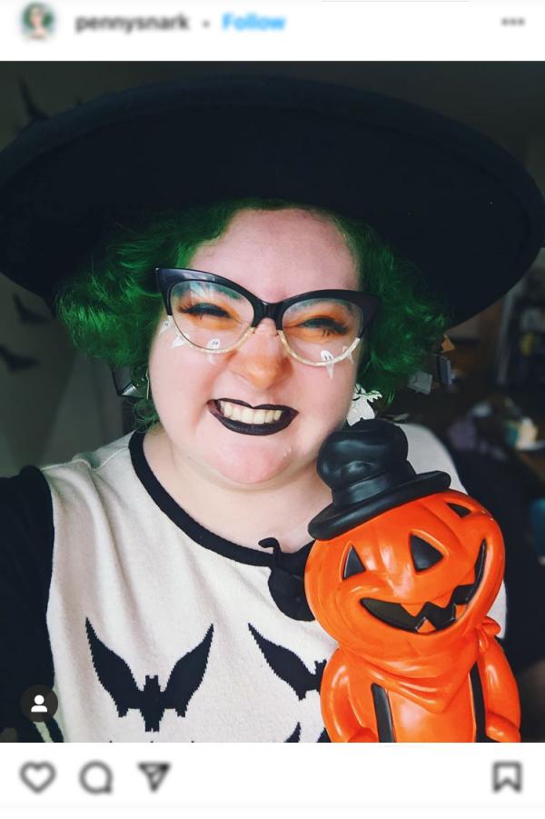 Halloween hashtag