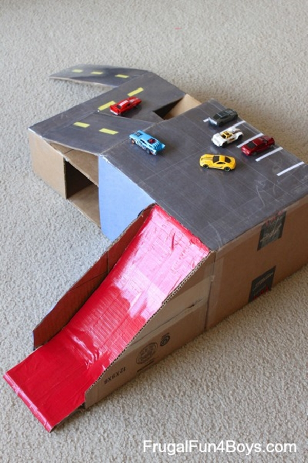 40 Cool DIY Hot Wheels Track Ideas For Kids