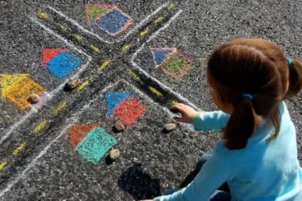 Easy Chalk Paint Ideas For Kids