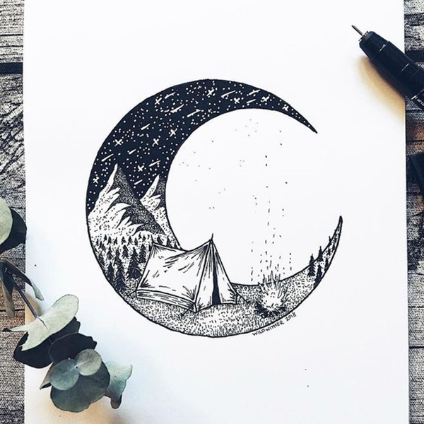 40 Simple Circle Drawing Ideas